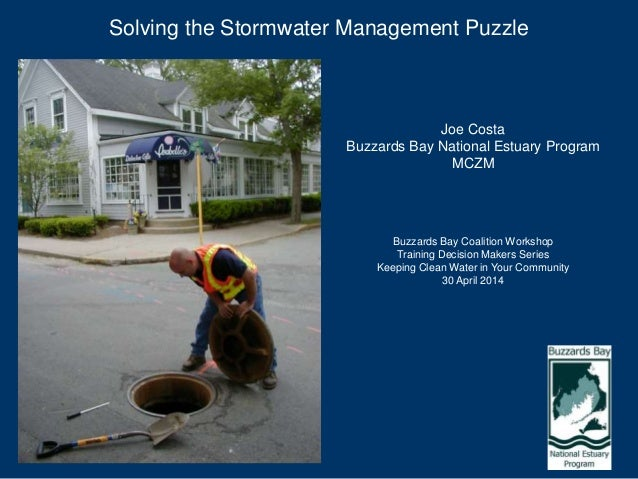 Solving the Stormwater Management Puzzle