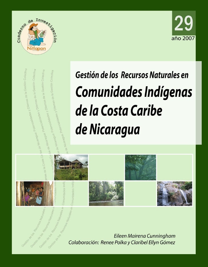 Costa AtláNtica GestióN Recursos Naturales Eileen Mairena