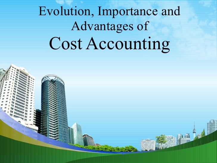 Cost accountancy historical development @ mba