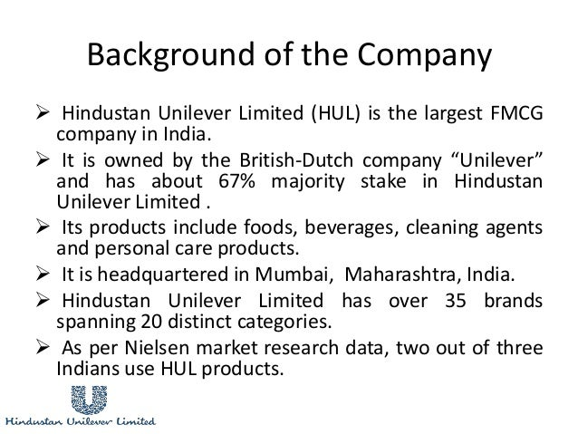 performance appraisal system in hindustan unilever limited A study on financial performance of hindustan who presented a system of ratio a study on financial performance of hindustan unilever limited.