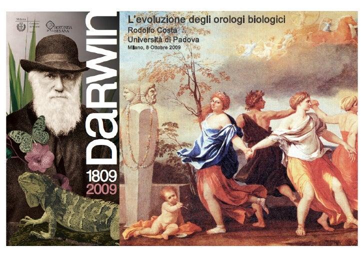 L'evoluzione degli orologi biologici