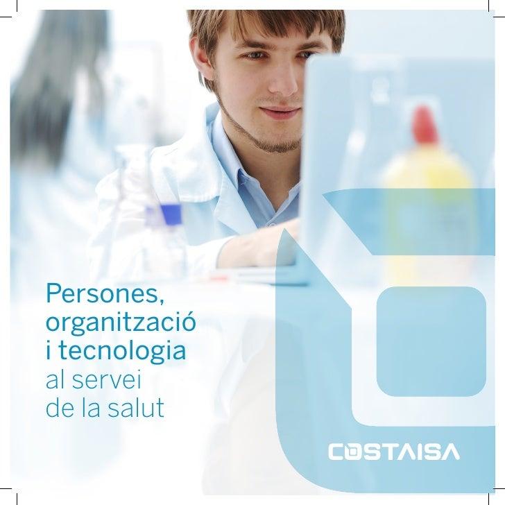 Persones,organitzaciói tecnologiaal serveide la salut