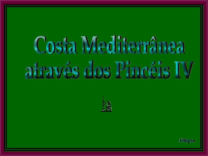 Costa Mediterranea No Pincel4
