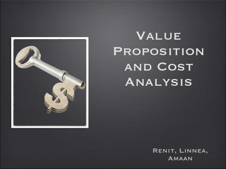 Key Account Management - Value Proposition/Cost Analysis