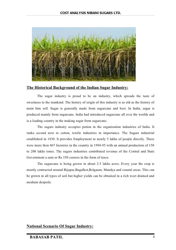 importance of indian sugar industry The sugar act - april 5, 1764 the sugar  the change was the french and indian  get control over the shipping industry and reduce smuggling in order to.
