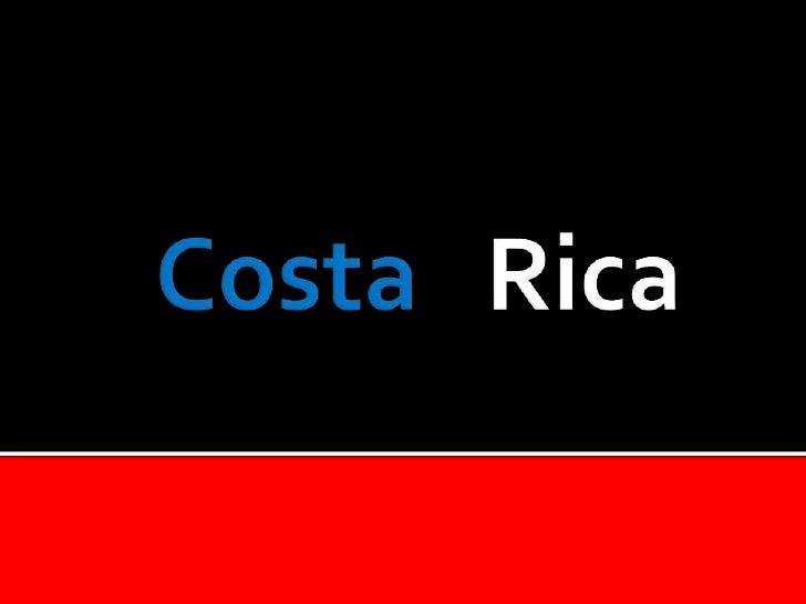 CostaRica<br />