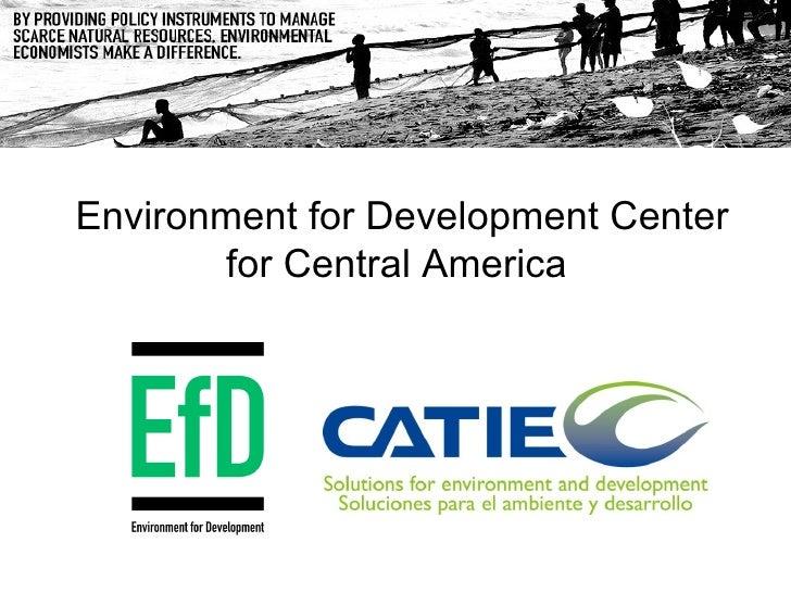 Costa Rica Ef D Central America Presentation