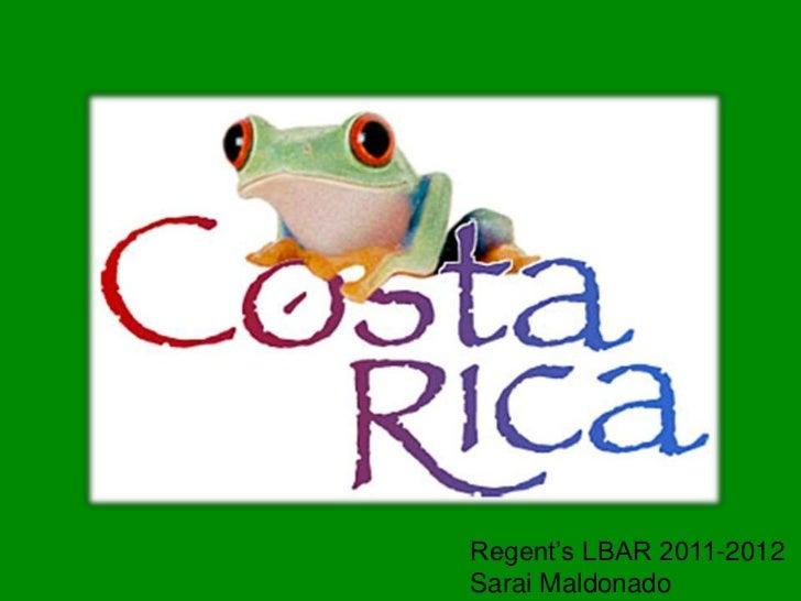 Regent's LBAR 2011-2012Sarai Maldonado