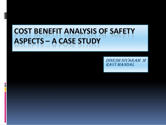 Analysis of a case study