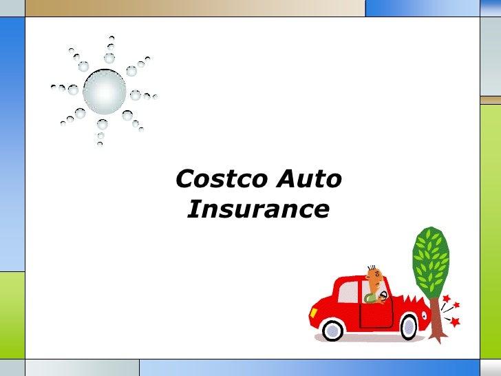 Costco auto insurance