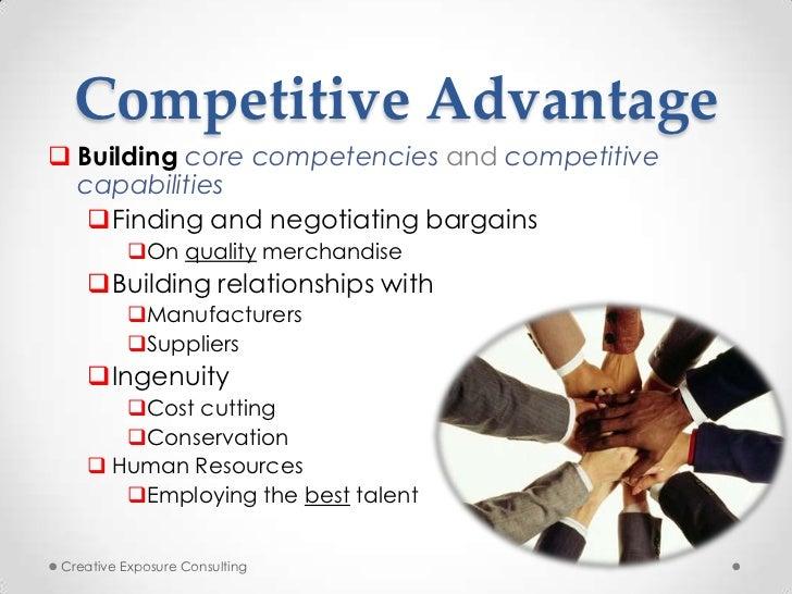 debenhams core competencies