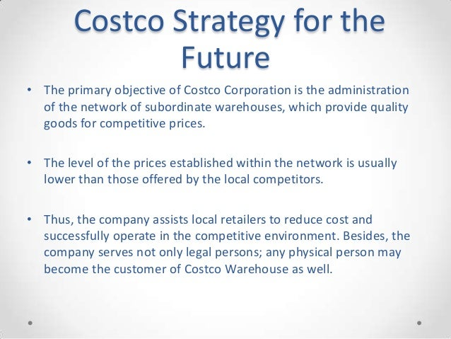 strengths and weakness of costco wholesale corporation mission business model and strategy Weaknesses costco has a limited product mix compared to the  costco wholesale corporation is  coulaspx costco's mission, business model, strategy & swot.