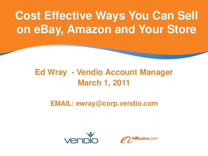 Cost Effective Ways You Can Sell on eBay, Amazon and Your Store