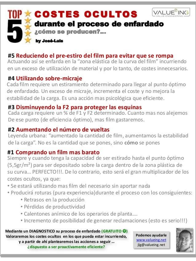 COSTES OCULTOSdurante el proceso de enfardado¿cómo se producen?…by José-Luis#5 Reduciendo el pre-estiro del film para evit...