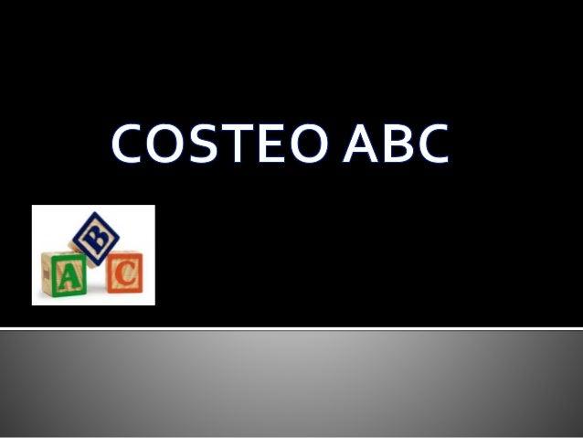 COSTEO ABC<br />