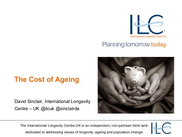 The cost of our ageing society - Edinburgh