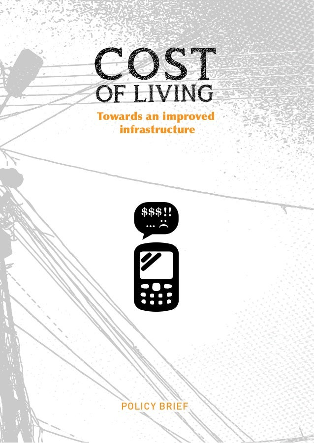 Cost of living Policy Brief .Lebanon