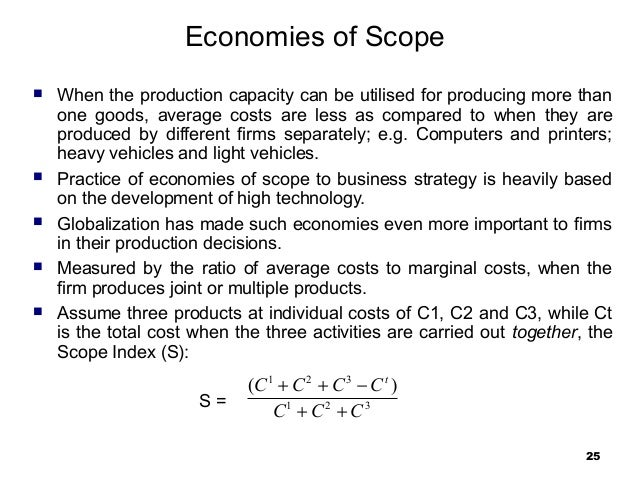 economies of scope - photo #24