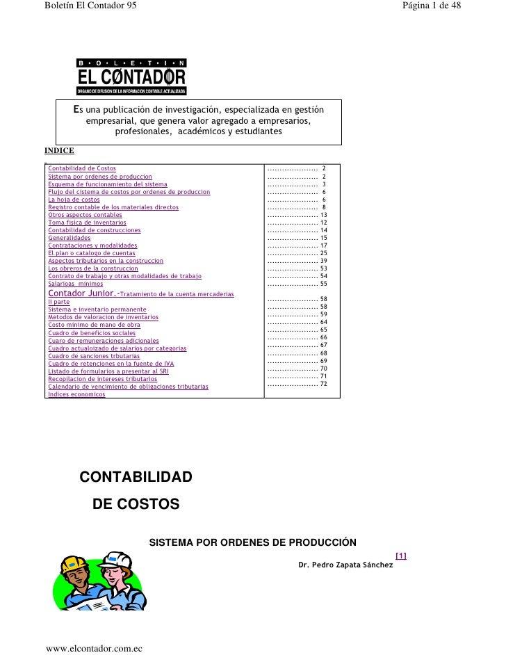 Boletín El Contador 95                                                                                                    ...