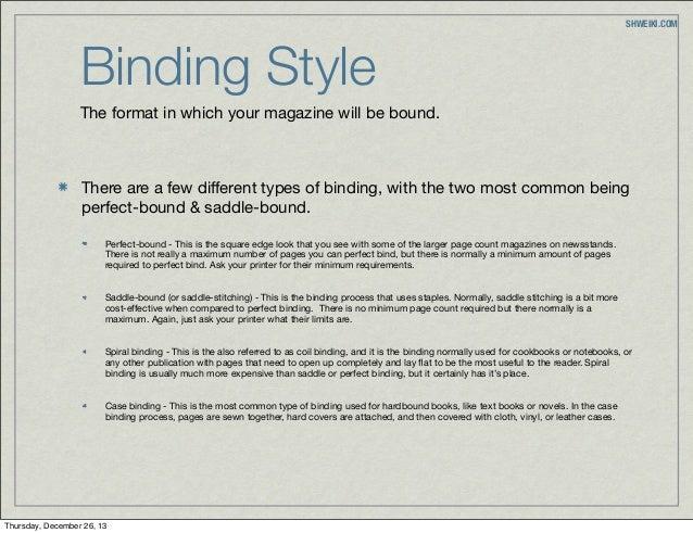 Binding cost