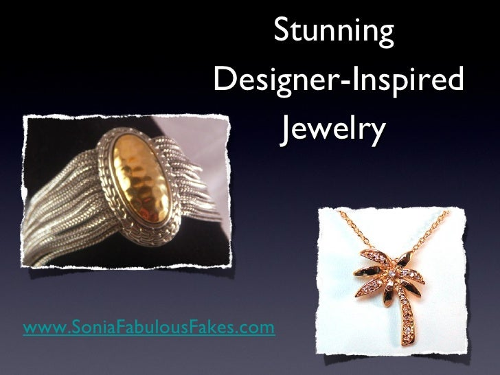 Designer Inspired Fashion & Costume Jewelry