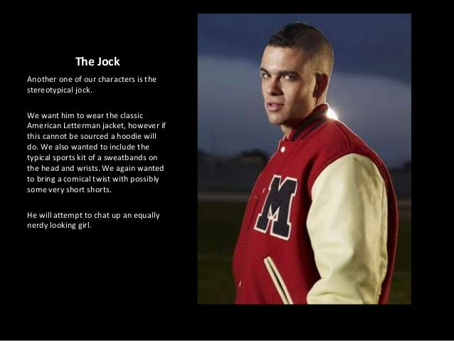 dumb jock stereotype essay Assorted number of groups to be an italian, jock, or homosexual in this era you have certain  essays related to stereotypes 1  we can all be held accountable of stereotyping at one point or anotherwhether the stereotypes are towards jocks being dumb or womanizers, preacher's daughters being the bad girls, southern people as hicks.