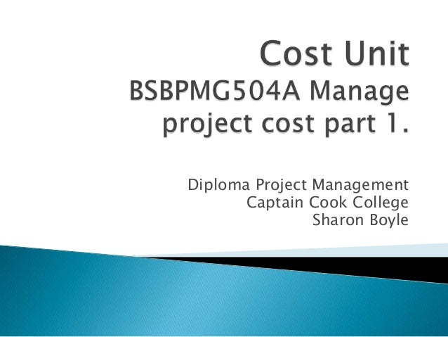 Cost unit 2013 part 1. 17  jan