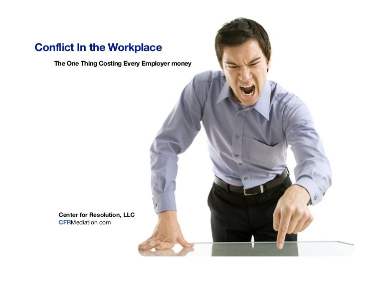 White Paper: Cost Workplace Conflict
