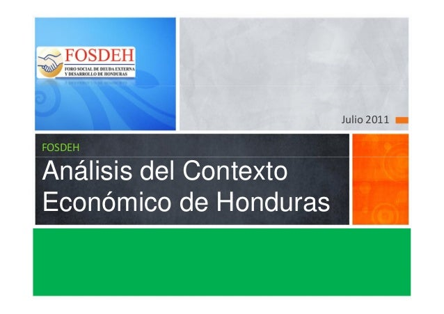 Cotexto economico julio_2011