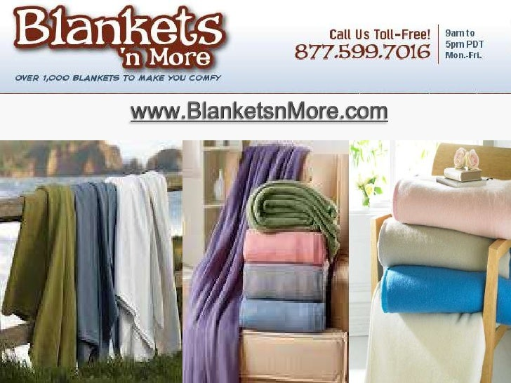 Cotton blankets shopping tips