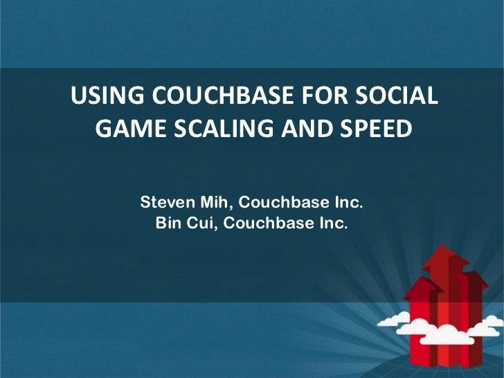 Couchbase b jmeetup