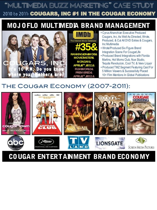 """Cougars, Inc"" Lionsgate Press 4-1-11"