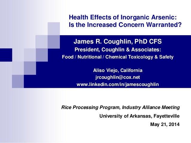Coughlin_U of Arkansas Rice Processing Symposium_May 2014