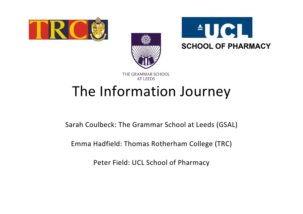 Coulbeck Hadfield & Field - The information journey