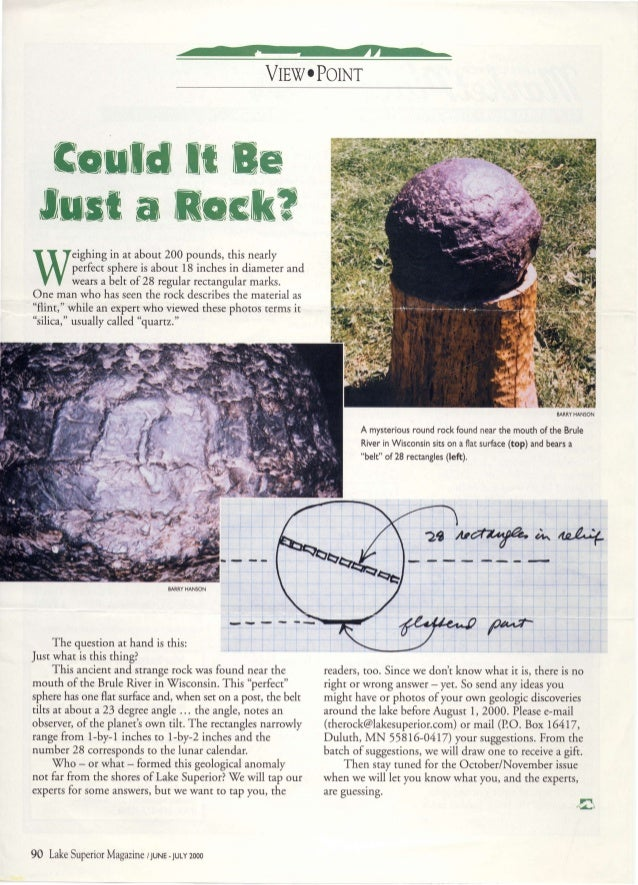 Could it be just a rock?