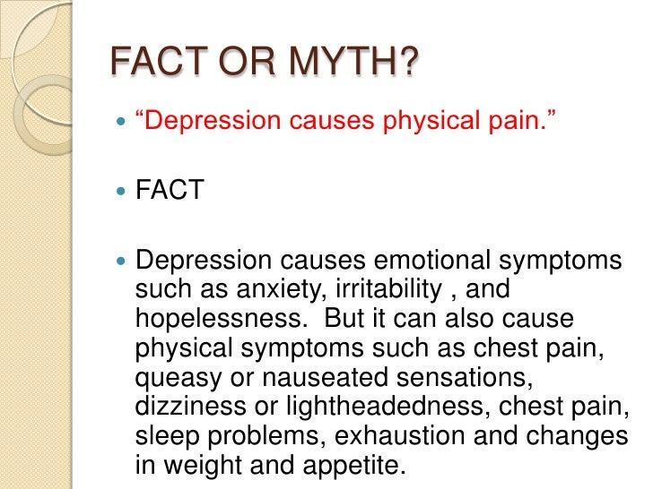 Depression Prozac Zoloft Myths Facts