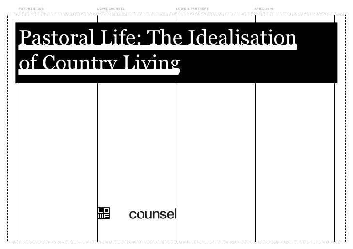 Counsel: Pastoral Life