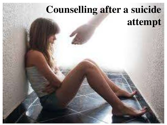 Counselling after a suicide attempt