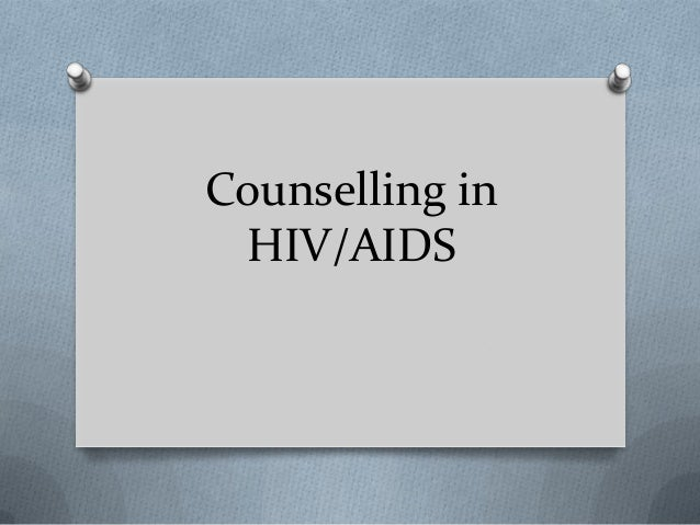 Counselling in hiv
