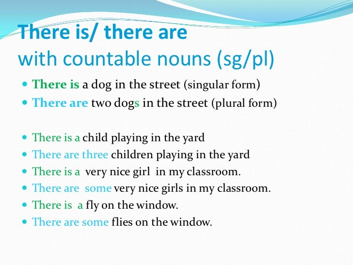 countable and uncountable nouns exercises pdf