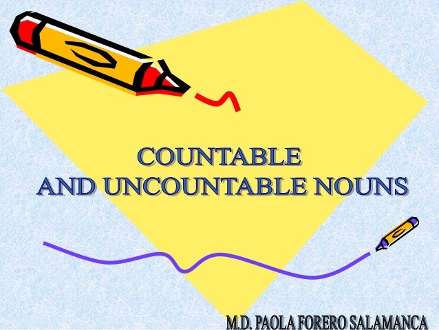 Countable nouns are individual objects, people, places, etc. whichcan be counted.• books, Italians, pictures, stations, me...