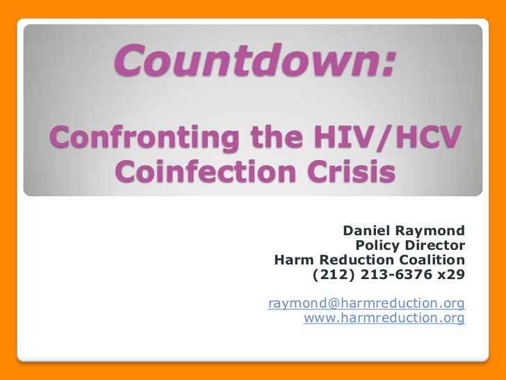 Countdown: Confronting the HIV/HCV Coinfection Crisis