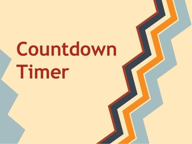 Countdown Timer