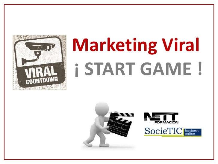 MASTER MPD             Marketing Viral             ¡ START GAME !