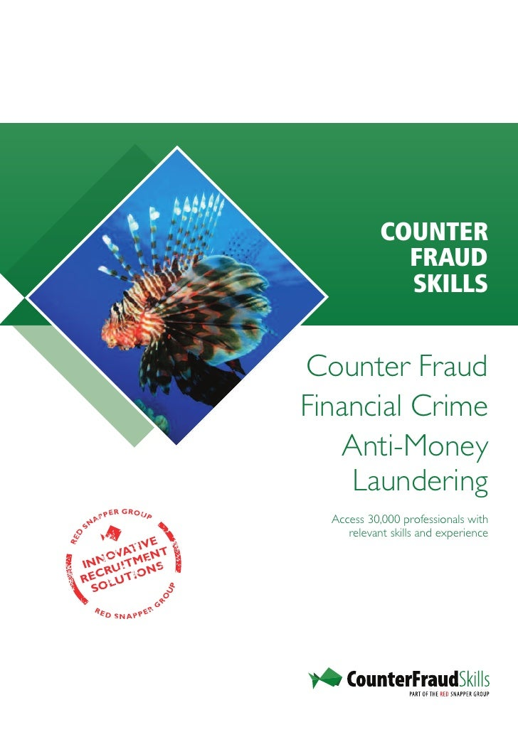 COUNTER                                                       FRAUD                                                       ...