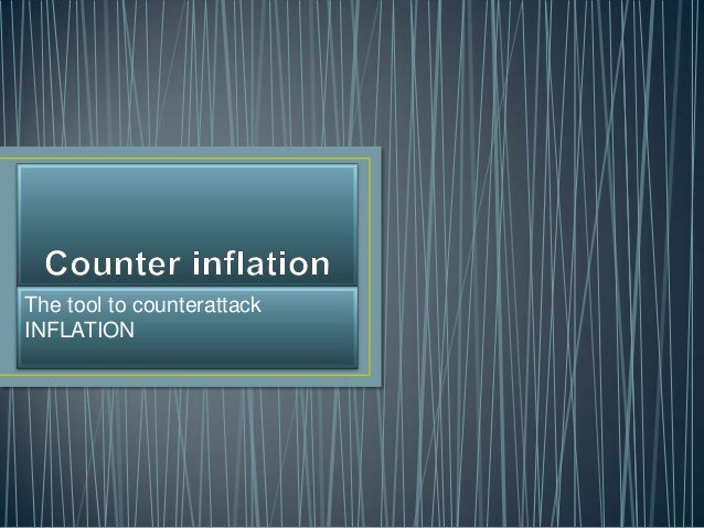 Counter inflation definition what is for Couter definition