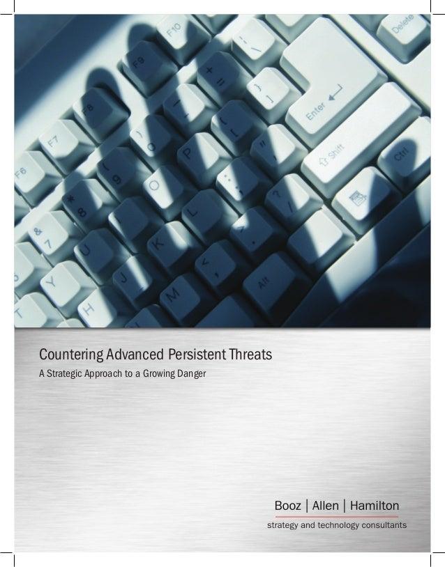 Countering Advanced Persistent Threats