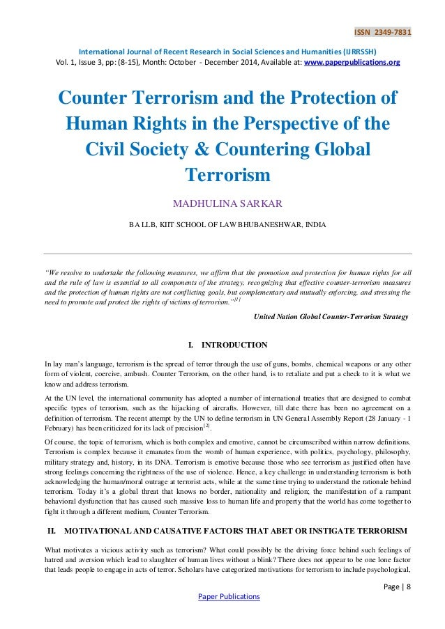 global terrorism research paper