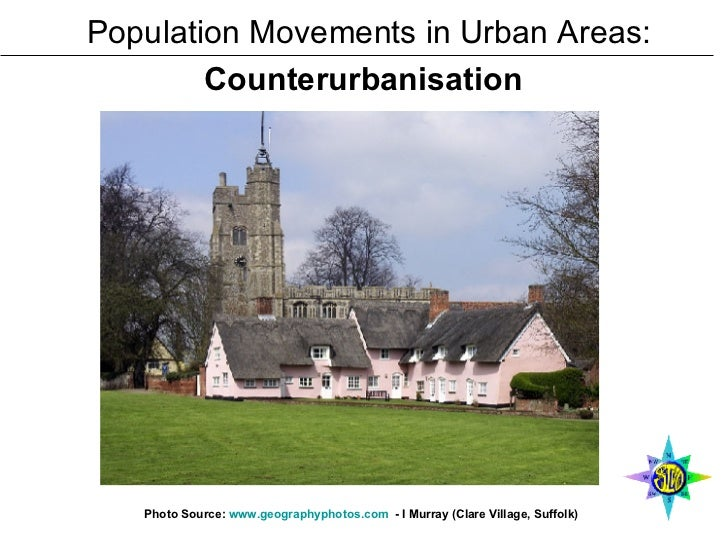 Population Movements in Urban Areas: Counterurbanisation   Photo Source:  www.geographyphotos.com   - I Murray (Clare Vill...