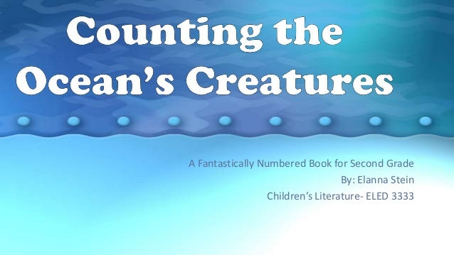 Counting our ocean's creature's information e book